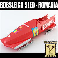 Bobsleigh Sled - Romania